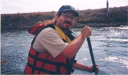 jay rafting on madison river