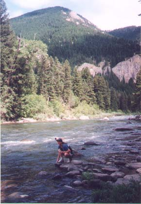 me by gallatin river